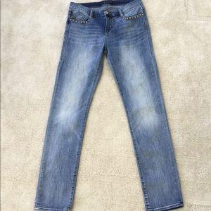 Rock and Republic Skull skinny jeans